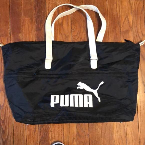 fce3b33a92e Puma Bags   Nylon Duffle Bag   Poshmark